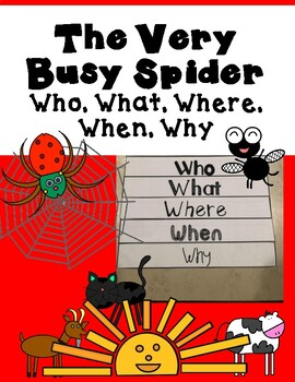 The Very Busy Spider Flip Book