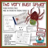 The Very Busy Spider | Reader Response & Booklet | Sight Word Practice