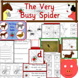 The Very Busy Spider book study activity pack
