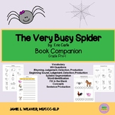 The Very Busy Spider by Eric Carle Activities Book Companion