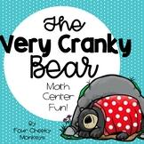 The Very Cranky Bear - math activities