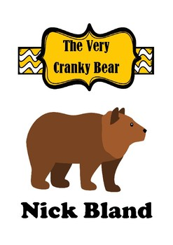 The Very Cranky Bear Activities