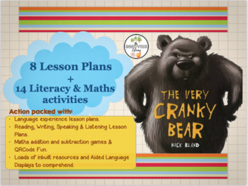 The Very Cranky Bear Lesson Plans