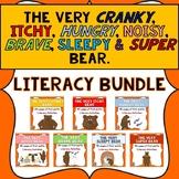 The Very Cranky Bear Book Series- Itchy, Hungry, Brave & Sleepy Bear