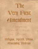 The Very First Amendment