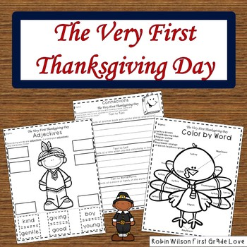 The Very First Thanksgiving Day Book Companion