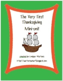 The Very First Thanksgiving Mini-Unit