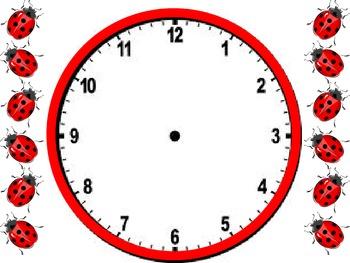 The Very Grumpy Ladybug  - O'clock, Half Past and Quarter