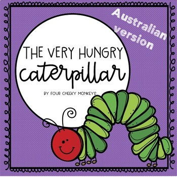 The Very Hungry Caterpillar Activities - A4 version
