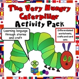 The Very Hungry Caterpillar - Activity Pack - Worksheets, Crafts, Games, Cards