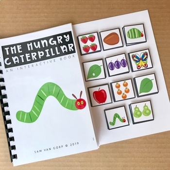 The Very Hungry Caterpillar Adapted Book
