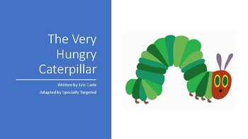 The Very Hungry Caterpillar - Adapted Book