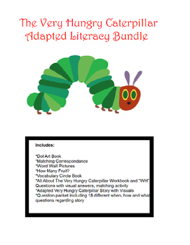 The Very Hungry Caterpillar Adapted Bundle