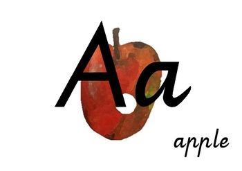 The Very Hungry Caterpillar Alphabet Display Cards