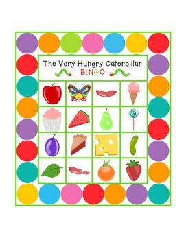 The Very Hungry Caterpillar BINGO (Large Cards)