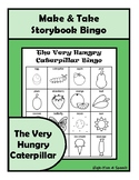 The Very Hungry Caterpillar BINGO Make & Take, SPEECH THERAPY, Distance Learning