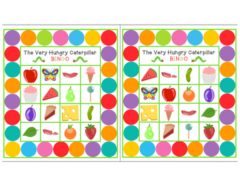 The Very Hungry Caterpillar BINGO (Small Cards)