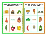 The Very Hungry Caterpillar Bingo Cards-Set of 20
