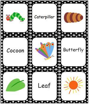 The Very Hungry Caterpillar Bingo Memory Match Domino Game Set