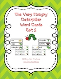 The Very Hungry Caterpillar/Butterfly Life Cycle Word Cards Set 1
