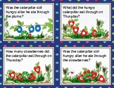 The Very Hungry Caterpillar (By Eric Carle) : Set of Four / Activity Cards 13-16