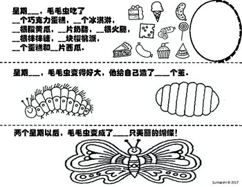 The Very Hungry Caterpillar-Chinese