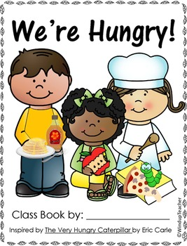 Class Books: We're Hungry Class Book Reproducibles