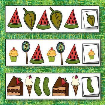 The Very Hungry Caterpillar Pattern Cards Dollar Deal!