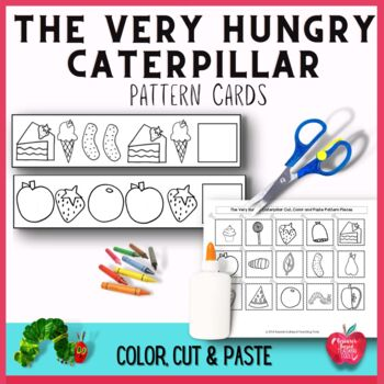 The Very Hungry Caterpillar Pattern Cards