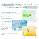 The Very Hungry Caterpillar Comparatives and Superlatives