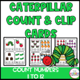 The Very Hungry Caterpillar Count and Clip Cards