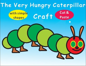 picture regarding Very Hungry Caterpillar Craft Printable identified as The Incredibly Hungry Caterpillar Craft