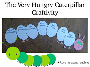 The Very Hungry Caterpillar Craftivity