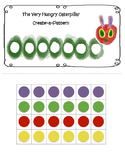 The Very Hungry Caterpillar Create-a-Pattern Worksheet