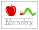 The Very Hungry Caterpillar: Days of the Week