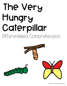 The Very Hungry Caterpillar - Differentiated Comprehension