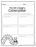 The Very Hungry Caterpillar - Drawing Activity