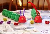 The Very Hungry Caterpillar Egg Carton Crafts