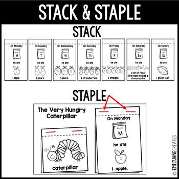 The Very Hungry Caterpillar Emergent Reader Flip Book