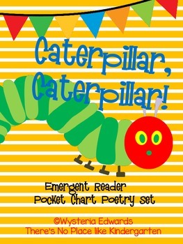 The Very Hungry Caterpillar Emergent Reader and Flannel Board Activity