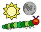 The Very Hungry Caterpillar Felt Board/Activity Pictures, Speech Therapy