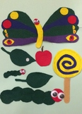 The Very Hungry Caterpillar Felt Story