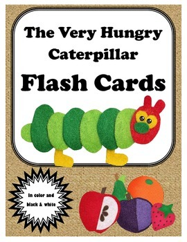 The Very Hungry Caterpillar Flash Cards
