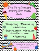 The Very Hungry Caterpillar Graphing & Pattern Math Activity Set