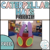 Caterpillar Hats {freebie}