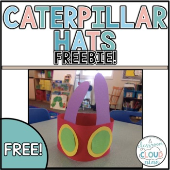 Caterpillar Hats {freebie}