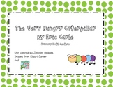 The Very Hungry Caterpillar- Kindergarten Math Centers