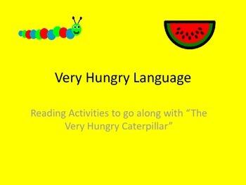 The Very Hungry Caterpillar Language