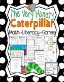 The Very Hungry Caterpillar Activity Pack Set Reading Math & Writing K-1