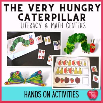 "Literacy and Math Activities based on the book, ""The Very"